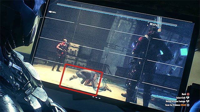 The last two fingerprints can be gained in the view from bottom right camera - Destroy the weapon turrets on the second airship | Main story - Main story - Batman: Arkham Knight Game Guide & Walkthrough