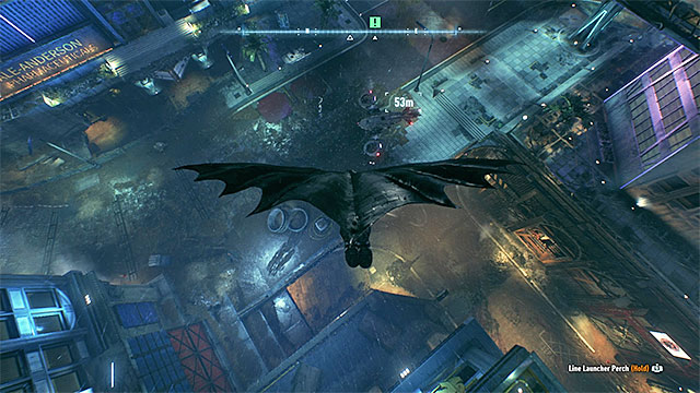 Land on the drone - Glide onto the relay drone and examine it | Main story - Main story - Batman: Arkham Knight Game Guide & Walkthrough