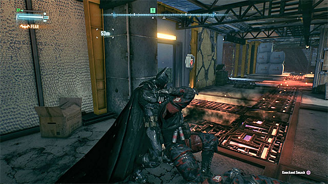 Take down the enemies by the missile launcher one by one - Take out the long range missile launcher | Main story - Main story - Batman: Arkham Knight Game Guide & Walkthrough