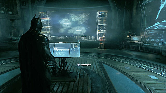 Use the computer in the Oracles clock tower - Return to the Clock Tower to review the Batwing scans - Main story - Batman: Arkham Knight - Game Guide and Walkthrough