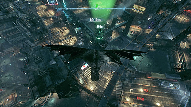 Use the afterburner and in the final phase catapult from the Batmobile - Riddler trophies on Bleake Island (19-36) | Collectibles - Bleake Island - Collectibles - Bleake Island - Batman: Arkham Knight Game Guide & Walkthrough