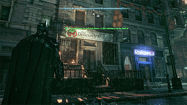 The building that you must scan - Riddles on Bleake Island - Collectibles - Bleake Island - Batman: Arkham Knight - Game Guide and Walkthrough