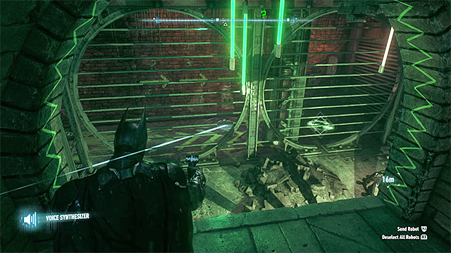 In the room you will find Riddlers robot - Riddler trophies on Miagani Island (1-19) | Collectibles - Miagani Island - Collectibles - Miagani Island - Batman: Arkham Knight Game Guide & Walkthrough