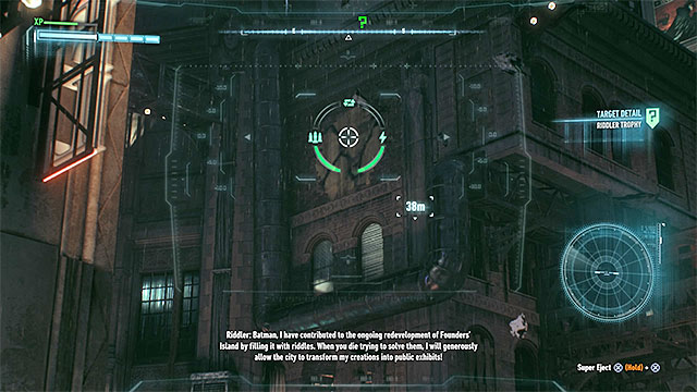 The wall that you must destroy - Riddler trophies on Miagani Island (1-19) | Collectibles - Miagani Island - Collectibles - Miagani Island - Batman: Arkham Knight Game Guide & Walkthrough