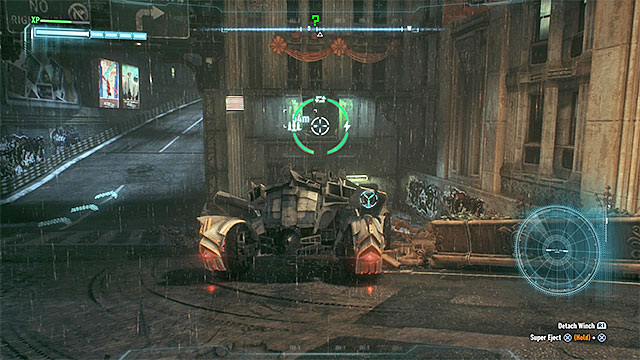 Use the winch to destroy the weakened wall - Riddler trophies on Miagani Island (20-38) - Collectibles - Miagani Island - Batman: Arkham Knight - Game Guide and Walkthrough