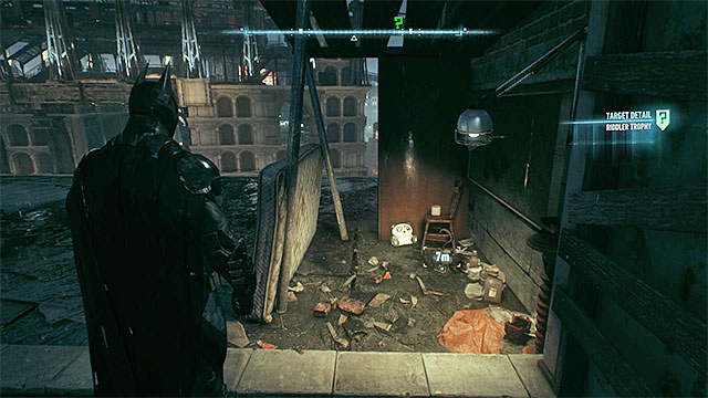 Check the roof of the orphanage - Riddler trophies on Miagani Island (20-38) | Collectibles - Miagani Island - Collectibles - Miagani Island - Batman: Arkham Knight Game Guide & Walkthrough