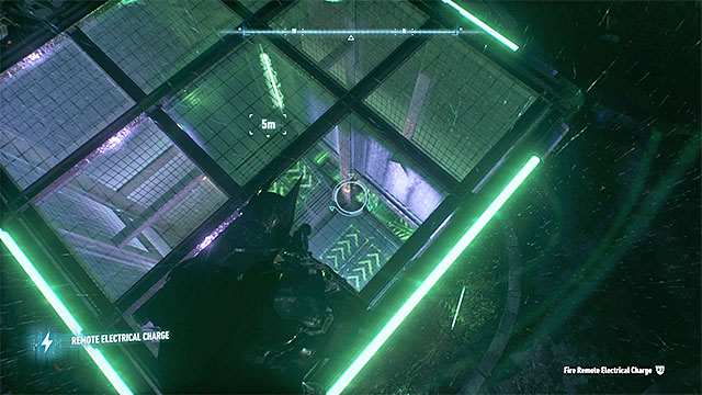 You can push the ball to the lower parts of the tower with the generators - Riddler trophies on Miagani Island (20-38) - Collectibles - Miagani Island - Batman: Arkham Knight - Game Guide and Walkthrough