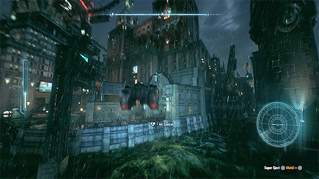 Use the jump - Riddler trophies on Miagani Island (20-38) | Collectibles - Miagani Island - Collectibles - Miagani Island - Batman: Arkham Knight Game Guide & Walkthrough