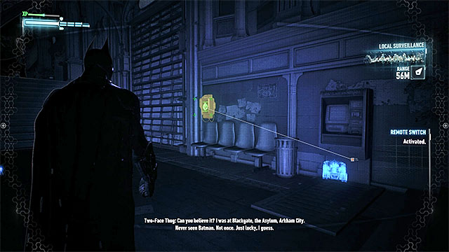 The panel that you must hack - Riddler trophies on Miagani Island (20-38) | Collectibles - Miagani Island - Collectibles - Miagani Island - Batman: Arkham Knight Game Guide & Walkthrough
