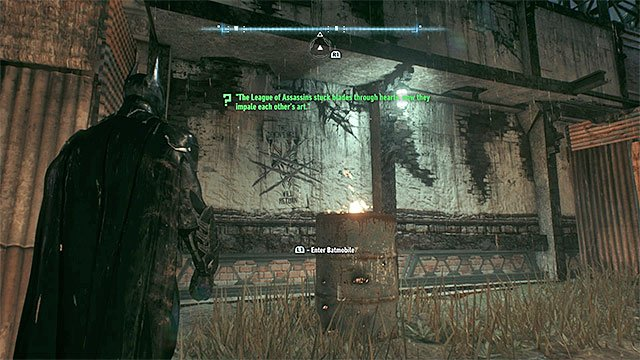 Zoom the screen for the scan to success - Riddles on Miagani Island | Collectibles - Miagani Island - Collectibles - Miagani Island - Batman: Arkham Knight Game Guide & Walkthrough