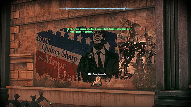 Find the partially destroyed election poster - Riddles on Miagani Island | Collectibles - Miagani Island - Collectibles - Miagani Island - Batman: Arkham Knight Game Guide & Walkthrough