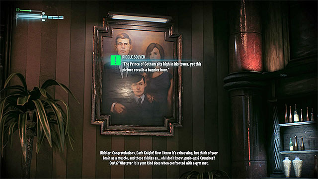 Find the painting of Waynes family - Riddles on Miagani Island | Collectibles - Miagani Island - Collectibles - Miagani Island - Batman: Arkham Knight Game Guide & Walkthrough