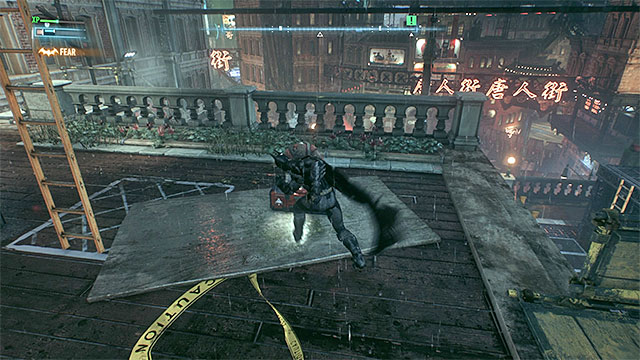 Enemies might try to place defense turrets - it is a good idea to interrupt them - Stop Scarecrows men from destroying Oracles servers | Main story - Main story - Batman: Arkham Knight Game Guide & Walkthrough