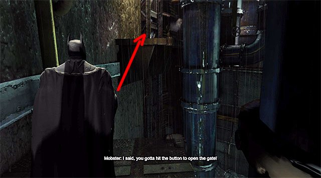 Start by using the hook on the ledge located on the left - Uplink the National Criminal Database to the batcomputer - Main storyline - Batman: Arkham Origins - Game Guide and Walkthrough