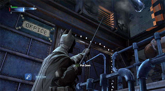 You need to rip the venting shaft grate off - Investigate the steel mill - exploring the mill - Main storyline - Batman: Arkham Origins - Game Guide and Walkthrough