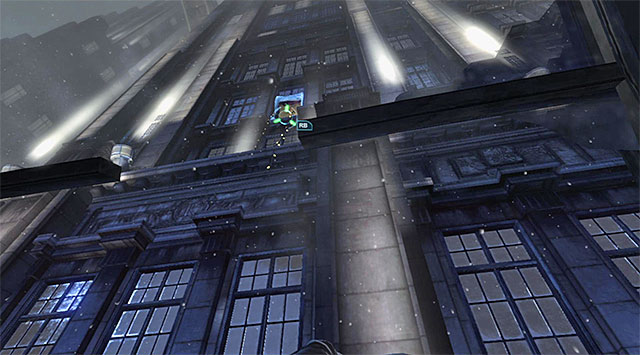 The window - Gain access to the penthouse - East tower - Main storyline - Batman: Arkham Origins - Game Guide and Walkthrough