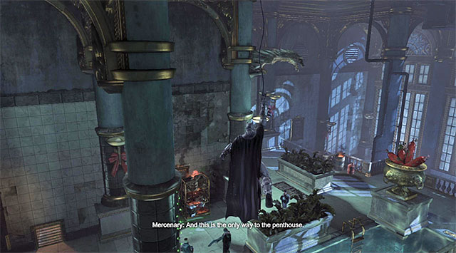 Use the vantage points as long as they are fully accessible - Gain access to the penthouse - swimming pool - Main storyline - Batman: Arkham Origins - Game Guide and Walkthrough