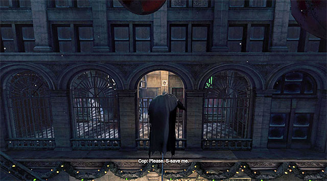 Extend the rope and walk over it - Shiva - Most Wanted - Batman: Arkham Origins - Game Guide and Walkthrough