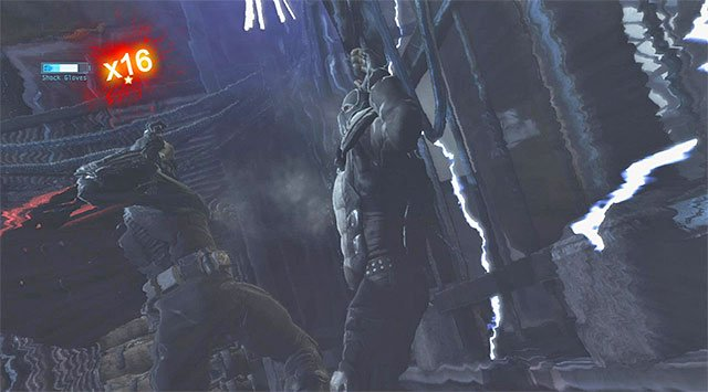 It is a good strategy to push the enemies off the platform's edge - Disarm the bomb at the south pillar - Main storyline - Batman: Arkham Origins - Game Guide and Walkthrough