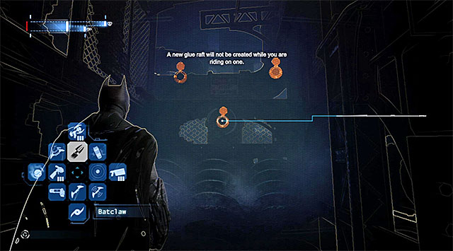Aim the glue grenades at two other pipes (they are located on the right) - Gain access to Blackgate Prison via the sewers - Main storyline - Batman: Arkham Origins - Game Guide and Walkthrough