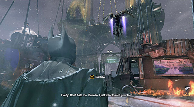 Press the counter-attack button - Firefly - Boss fights - Batman: Arkham Origins - Game Guide and Walkthrough