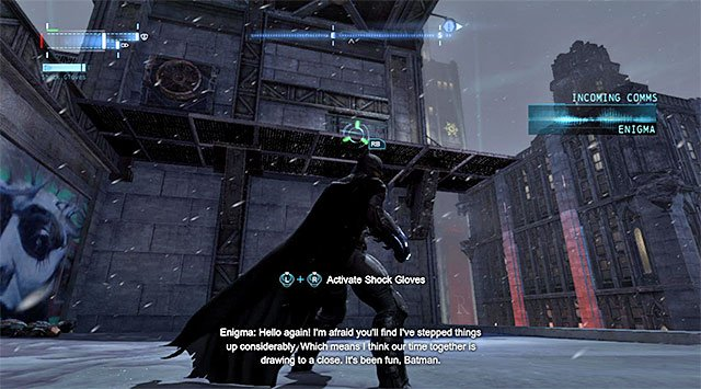 1 - The tower in the Diamond District - Comms Towers - Batman: Arkham Origins - Game Guide and Walkthrough