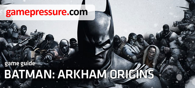 This unofficial guide for Batman: Arkham Origins includes, first of all, a very detailed walkthrough for the main single-player storyline - Batman: Arkham Origins - Game Guide and Walkthrough