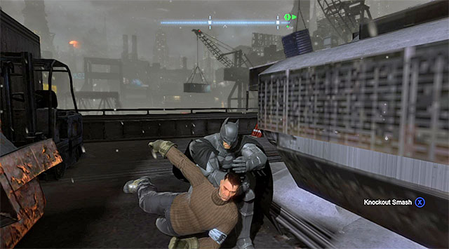 wait for the enemies to separate and then attack them - Gain access to the Final Offer - Main storyline - Batman: Arkham Origins - Game Guide and Walkthrough