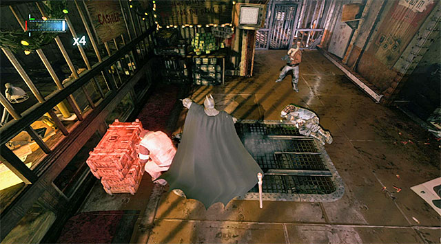 Stop the enemies from collecting new weapons from the crates - Track down the Penguin - Main storyline - Batman: Arkham Origins - Game Guide and Walkthrough