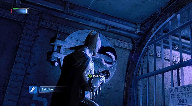 A hatch that you can open - Track down the Penguin - Main storyline - Batman: Arkham Origins - Game Guide and Walkthrough