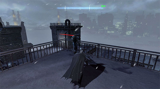 For obvious reasons, I recommend against engaging the corrupt policemen into fight because, since they are armed, Batman could die very quickly - Gain access to the GCPD via the rooftop - Main storyline - Batman: Arkham Origins - Game Guide and Walkthrough