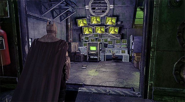 The main computer - Enigma - Most Wanted - Batman: Arkham Origins - Game Guide and Walkthrough