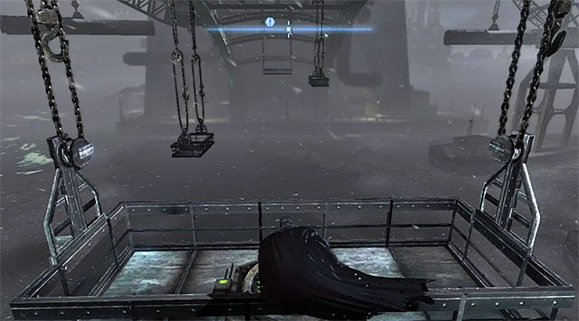 Reach the small balconies under the bridge and start on the one shown in the screenshot, which is located to the South-East of the collectible - The best hidden datapacks - Extortion File 11 (Gotham Pioneers Bridge) - Enigma Datapacks - Batman: Arkham Origins - Game Guide and Walkthrough