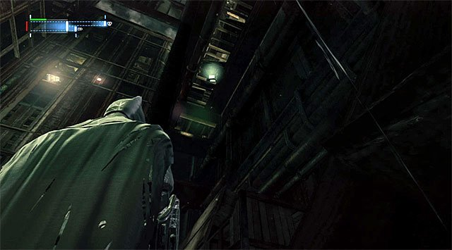 The collectible is in the Northern part of the Freight Elevator Shaft - The best hidden datapacks - Extortion File 11 (Gotham Pioneers Bridge) - Enigma Datapacks - Batman: Arkham Origins - Game Guide and Walkthrough
