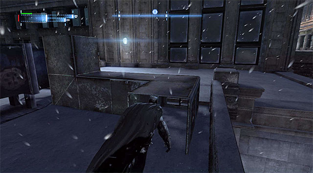 Datapack has been hidden in the venting shaft on the rooftop of one of the buildings and the entrance to this shaft has been shown in the above screenshot - The best hidden datapacks - Extortion File 20 (Burnley) - Enigma Datapacks - Batman: Arkham Origins - Game Guide and Walkthrough