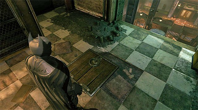Start in a small room on the upper floor [Maintenance Access], located to the North of the GCPD - Bullpen - The best hidden datapacks - Extortion File 20 (Burnley) - Enigma Datapacks - Batman: Arkham Origins - Game Guide and Walkthrough