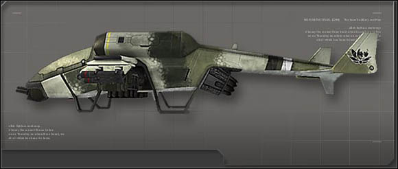 Vehicle description - Gunships - Vehicles - Battlefield 2142 - Game Guide and Walkthrough