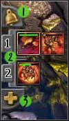 This panel allows us to group units - Interface - Battle interface - Interface - BattleForge - Game Guide and Walkthrough