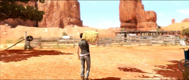Aiden's abilities will come in handy while searching for hay - Navajo - Walkthrough - Beyond: Two Souls - Game Guide and Walkthrough