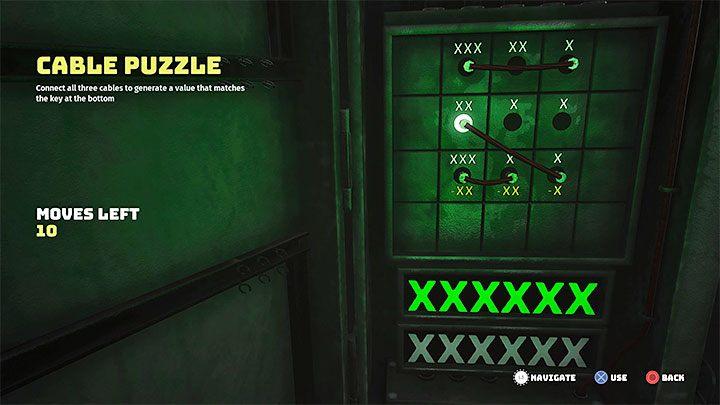 Более необычные головоломки могут потребовать от вас нажатия кнопок, чтобы все они стали зелеными (пример на рисунке 1) или перетаскивания кабелей для достижения определенного значения (сложение и вычитание - пример на рисунке 2) - Биомутант: уровень сложности головоломки - как понизить Это?  - Исследование - Руководство по биомутантам