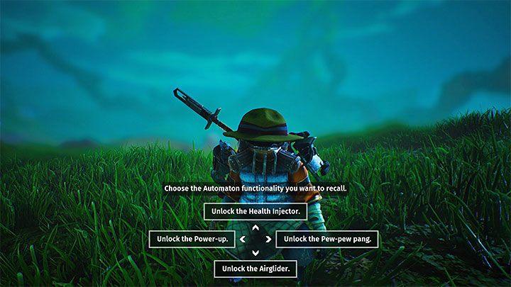 Выполняя сцены из прошлого, вы можете разблокировать новые функции автоматов - игра всегда позволит вам выбрать один новый навык - Биомутант: Питомец-автомат - Основы - Руководство по биомутантам