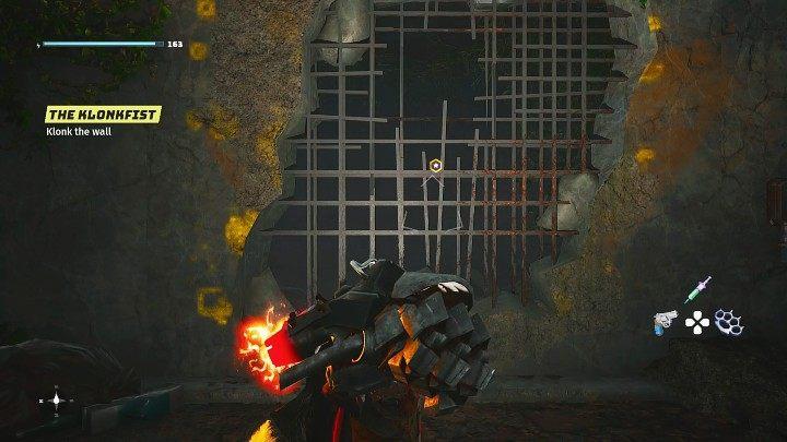 Используйте Klonkfist Старого Света, чтобы атаковать стену три раза и открыть проход в остальную часть этой локации - Биомутант: Война племен - Прохождение - Основные задачи - Руководство по Биомутанту