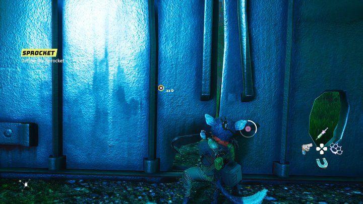 После боя подойдите к массивной металлической двери и откройте ее с помощью лома - на экране появится кнопка, которую вам придется размять - Биомутант: Чугъярд - Прохождение - Основные задания - Руководство по биомутантам