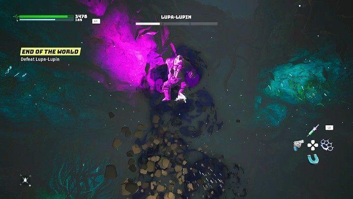 На заключительном этапе битвы с Люпой-Люпином вы должны не упустить один новый навык, который является атакой в прыжке - Биомутант: Конец света - прохождение - Основные квесты - Руководство по биомутантам.