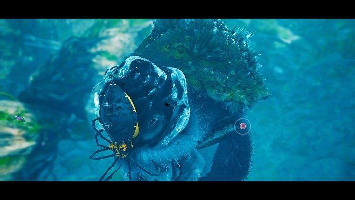 Когда кнопка (Квадрат на PS4 / PS5) появляется рядом с головой вашего противника, вы сможете прижаться к его рту и истощить значительную часть его здоровья - Biomutant: Murk Puff - как победить?  - Боссы - Руководство по биомутантам