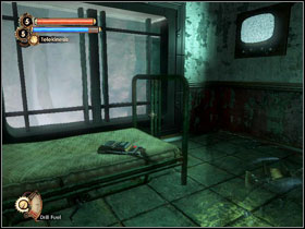 11 - Go into the corridor in front of the turret - Walkthrough - Inner Persephone - Walkthrough - Bioshock 2 - Game Guide and Walkthrough