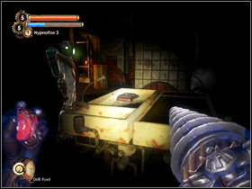 14 - Hack the cameras and search the area to find two Diaries and a safe (under the counter) - Walkthrough - Inner Persephone - Walkthrough - Bioshock 2 - Game Guide and Walkthrough