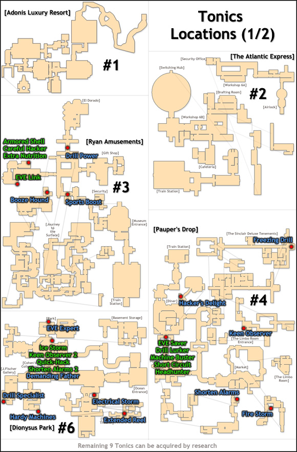 Tips Tonics Maps Bioshock 2 Game Guide Walkthrough