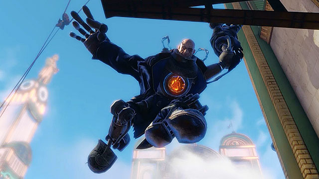 A Handyman is a fusion between a man and a machine and its often called the new version of the Big Daddy known from the previous games in the BioShock series - Powerful enemies - Enemies - BioShock: Infinite - Game Guide and Walkthrough