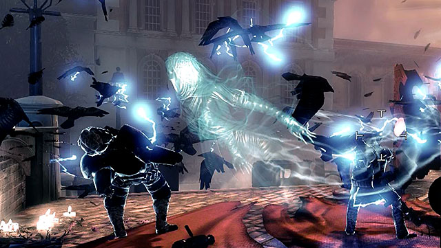 The siren remains in her spectral form for most of each battle and she materializes only to summon more zombies - Powerful enemies - Enemies - BioShock: Infinite - Game Guide and Walkthrough